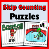 Skip Counting for Multiplication by 2, 3, 4, 5, 6, 7, 8, 9