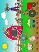 Skip Counting Puzzles - Farm Theme