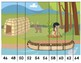 Skip Counting Puzzles Forwards & Backwards by 2s, 5s, 10s Native American Theme