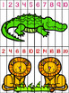 Skip Counting Puzzles - Jungle