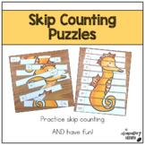 Skip Counting Puzzles {Kindergarten & 1st Grade - Set 1}
