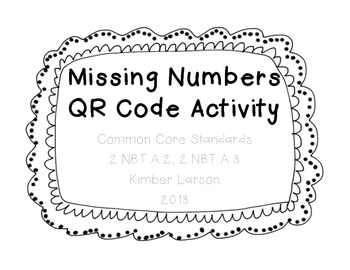Skip Counting QR Activity