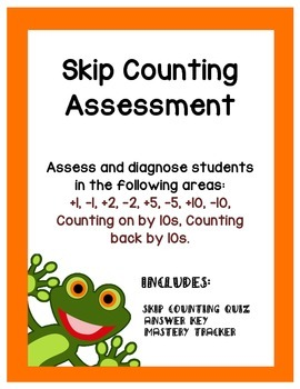 Skip Counting - Quiz