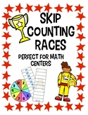 Skip Counting Races - A Math Fluency Center Game