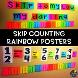 Skip Counting Rainbow Posters