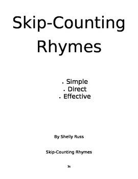 Skip-Counting Rhymes