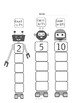 Skip Counting --Robots!
