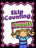 Skip Counting Scoot! CCSS aligned