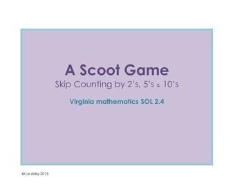 Skip Counting Scoot SOL 2.4