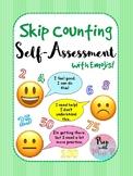 Skip Counting Self-Assessment FREEBIE