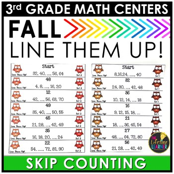 Skip Counting Fall Game