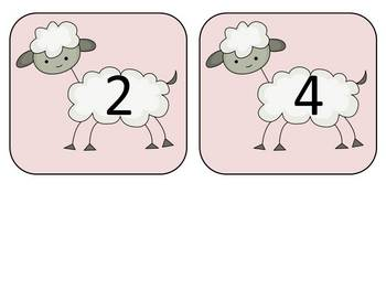 Skip Counting Sheep by 2's: A Math Center Game