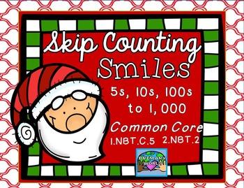 Skip Counting Christmas Theme