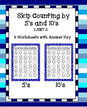 Skip Counting Snowflakes - 2.NBT.2