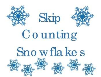 Skip Counting Snowflakes