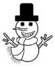 Skip Counting Snowman