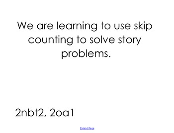 Skip Counting Story Problems