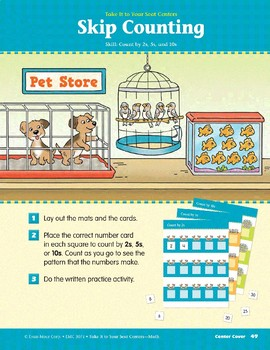 Skip Counting (Take It to Your Seat Centers Common Core Math)
