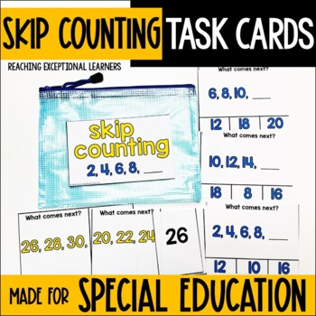 Skip Counting Task Card Set