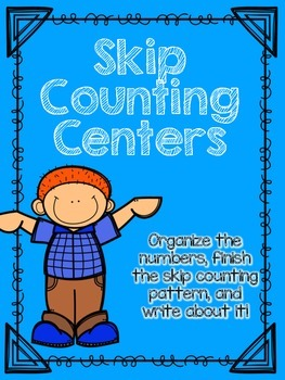 Skip Counting Task Card/Centers