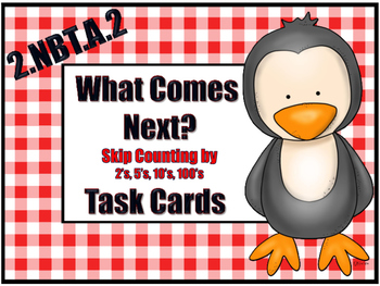 Skip-Counting Task Cards