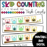 Skip Counting Task Cards 2s, 3s, 5s, 10s and 100s