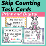 Skip Counting Task Cards (Scoot)
