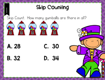Skip Counting Task Cards and Game (Digital Task Cards Included)