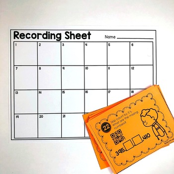 Skip Counting Task Cards (included in Math Task Card Bundle)