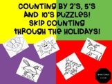 Skip Counting Through the Holidays by 2's, 5's and 10's