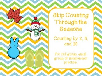 Skip Counting Through the Seasons