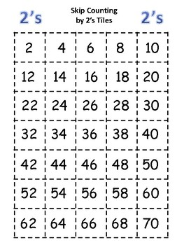 Skip Counting Tiles
