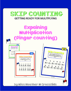 Skip Counting Using Fingers Packet