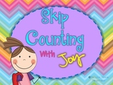 Skip Counting Practice Packet-- Skip Counting With Joy (Differentiated)