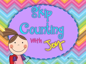 Skip Counting Practice Packet-- Skip Counting With Joy (Di