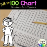 100 Skip Counting Worksheets