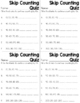 Skip Counting Worksheet Pack