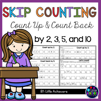 Skip Counting Worksheets - Skip Counting Activities