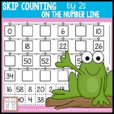 Skip Counting by 2s Worksheets