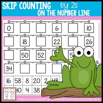 Count By 2s Worksheet Teaching Resources Teachers Pay Teachers