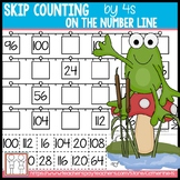 Skip Counting by 4s Worksheets