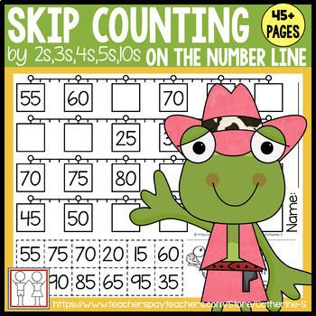 BUNDLE: Skip Counting Worksheets