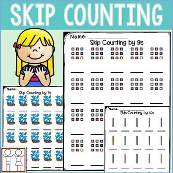 Skip Counting Worksheets