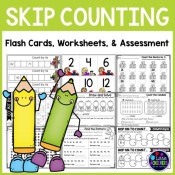Skip Counting Worksheets | Skip Counting Activities