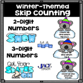 Skip Counting Worksheets with Two and Three Digit Numbers