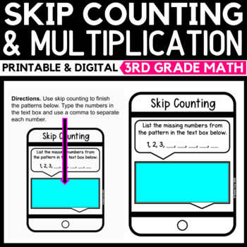Skip Counting and Multiplication