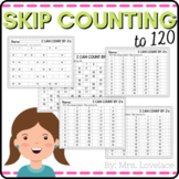 Skip Counting and Number Patterns using Hundreds Charts Worksheets