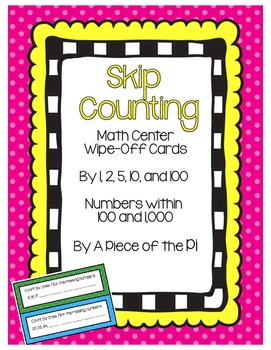 Skip Counting by 1, 5, 10