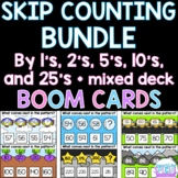 Skip Counting by 1's, 2's, 5's, 10's and 25's - BOOM CARDS