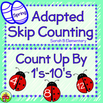 Skip Counting-Spring Themed